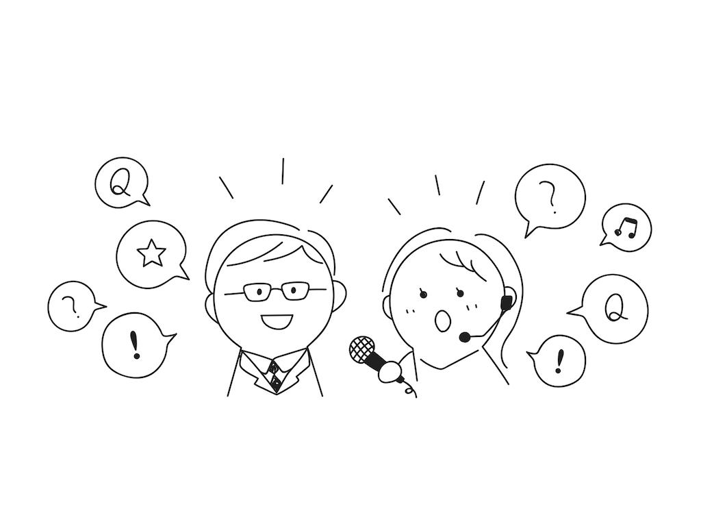 web制作に関するインタビューを行う滋賀県在住ライター